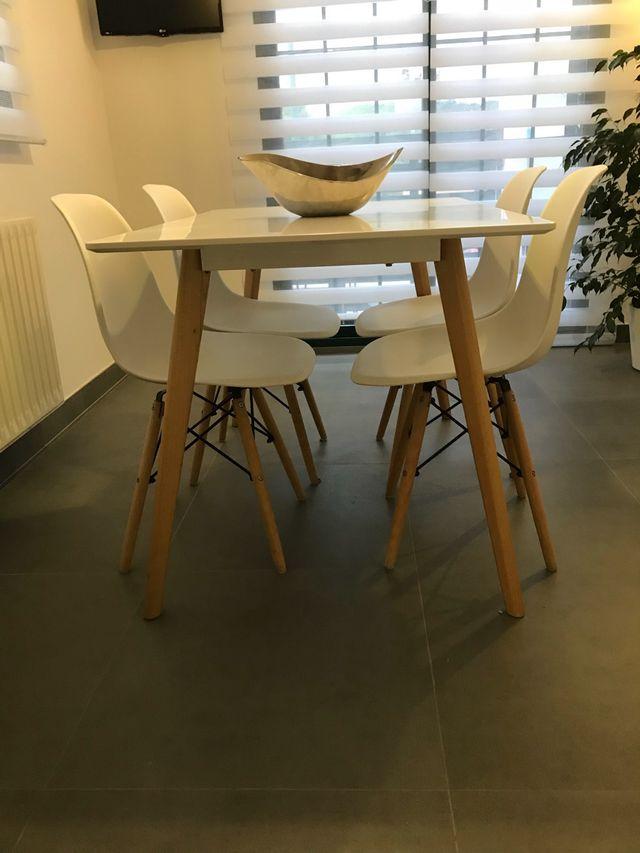 Conjunto mesa + sillas cocina de segunda mano por 180 € en Riba-Roja ...