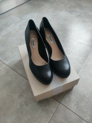 Zapatos Clarks piel talla 39