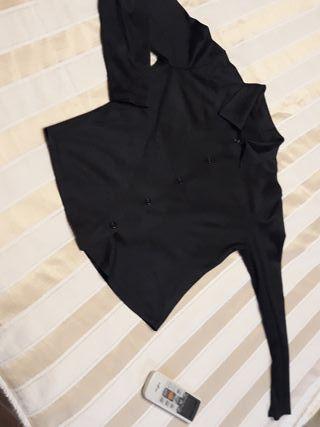 camisa negra mujer talla M en perfecto estado