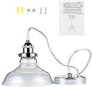 40W Techo Industrial de de Lámpara E Colgante Lámpara QECeWrdBox