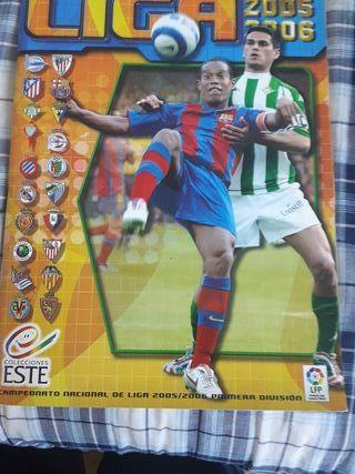 Álbum de cromos La Liga 2005/2006