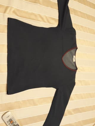 camiseta tejido vaquero talla M