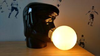 Lampara vintage Cabeza globo de chicle Elvis
