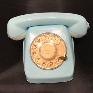Teléfono de juguete AIRGAM. Azul.