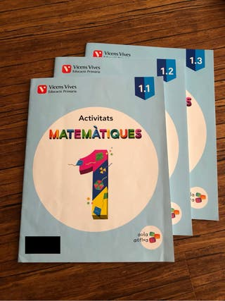 Matemàtiques Activitats 1r Vicens Vives
