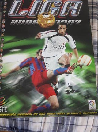 Álbum de cromos de La Liga 2006/2007