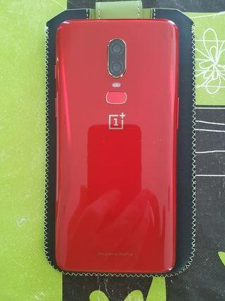 ONE PLUS 6 LAVA RED 128GB 8GB