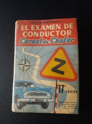 LIBRO VINTAGE DE AUTOESCUELA