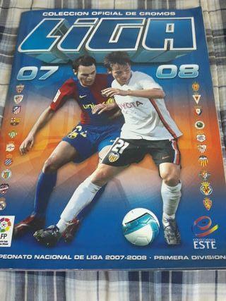 Álbum de cromos de La Liga 2007/2008