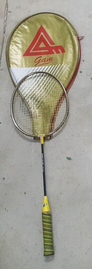 Raqueta bádminton GLAM con funda.