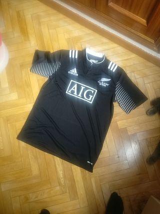 camiseta adidas all blacks