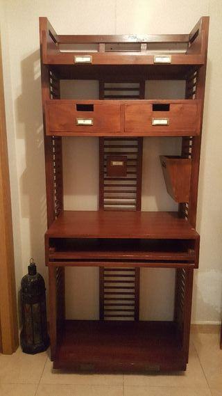Mueble estanteria y para ordenador de segunda mano por 245 en alicante en wallapop - Banak importa alicante ...