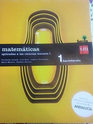Matemáticas Ciencias Sociales I