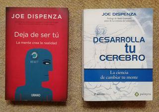 Dos libros de Joe Dispenza