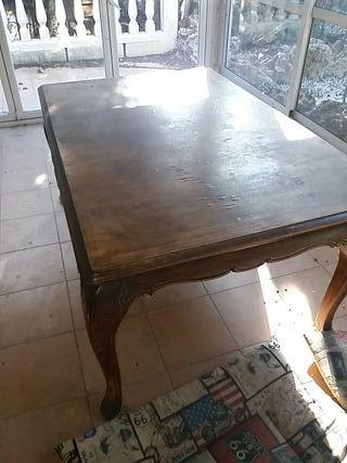 Mesa comedor muy grande para restaurar. de segunda mano por