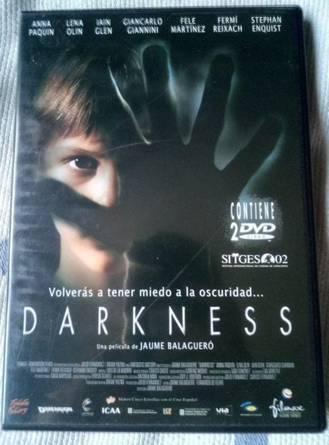 darkness dvd edicion especial 2dvd