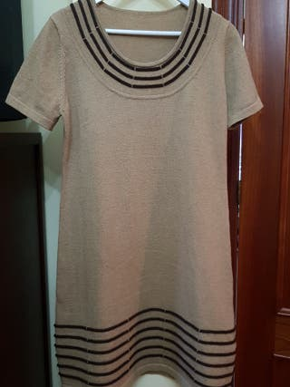 Vestido lana talla XL