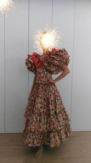 Robe flamenca sevillanas