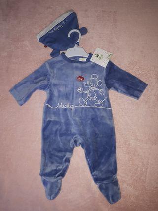 Pijama bebé Mickey Disney