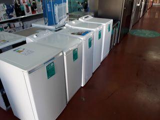 Lavadoras carga superior nuevas, taras