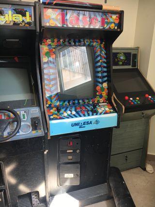 "Maquina arcade 25"" láser vertical!!"