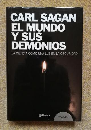 Libro el mundo y sus demonios de Carl Sagan