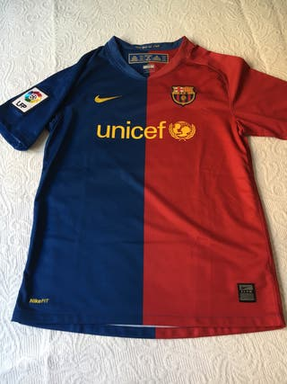Camiseta Barça oficial Talla L niño