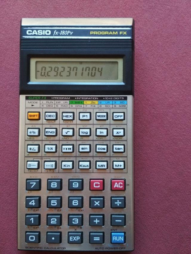 CASIO FX-180PV FX PROGRAM