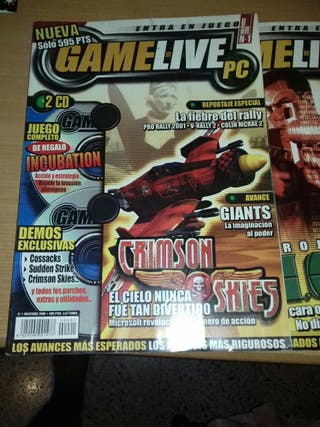 Revista Gamelive pc.