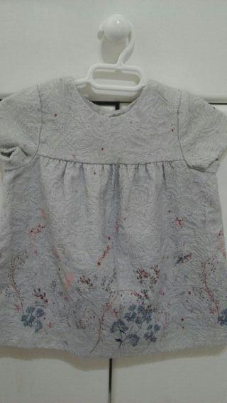 Vestido bebé niña 6-9 meses