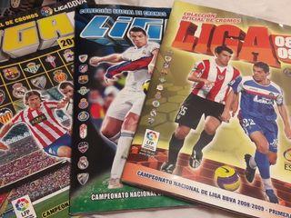 Álbumes de cromos de La Liga