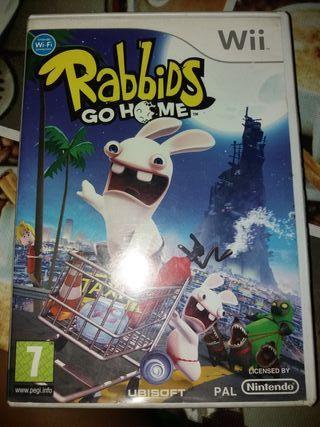 Rabbids go Home Wii