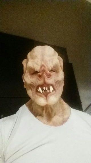 Máscara de silicona de Vampiro