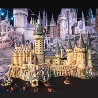 Castillo de Hogwarts Harry Potter compatible Lego
