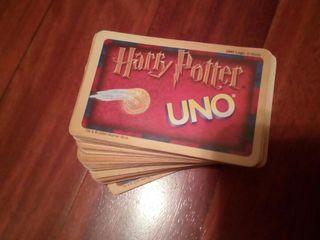Cartas juego UNO H.Potter