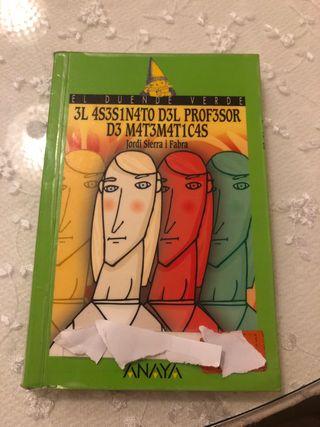 EL ASESINATO DEL PROFESOR DE MATEMATICAS ANAYA