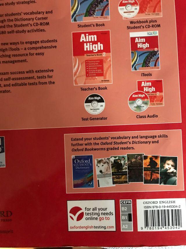 Libro de Inglés Aim High Oxford