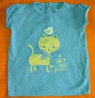 Camiseta gatito bebe