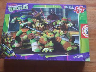 Puzzle Tortugas Ninja 200 piezas