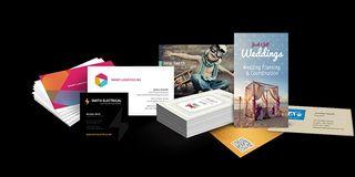 flyers, tarjetas económicas y diseño gráfico