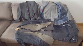 traje y chaquetas