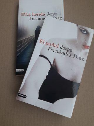 """Libros pack """"El puñal"""" y """"La herida:"""