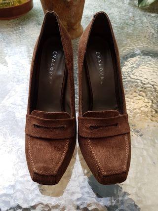 Zapatos tacón mujer