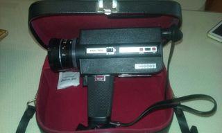 Cámara de vídeo. 8mm.