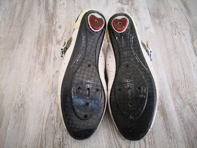 Zapatos Ciclismo Carretera Sidi 46 Carbono