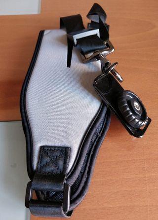Correa cámara de neopreno en color gris