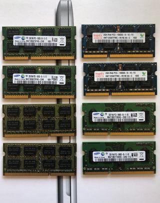 Módulos RAM 2GB Apple Mac 1.333MHz y 1.600MHz