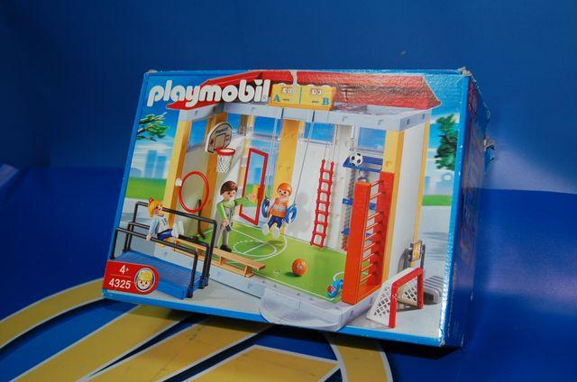 Lote Playmobil-gimnasio de la escuela 4325