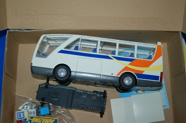 Lote Playmobil-playmobil city life autobus