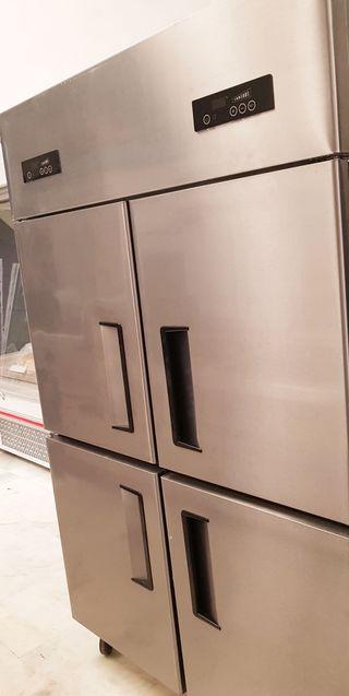 Armario refrigerado - inoxidable - cocina